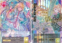 Alice, Girl of the Lake // Alice, Fairy Queen - TTW-001 // TTW-001J - R - 1st Edition - Full Art