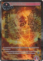 Barrier of Flame - TTW-019 - R - 1st Edition - Full Art on Channel Fireball