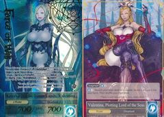 Valentina, Plotting Lord of the Seas // Overlord of the Seven Lands, Valentina - TTW-045 // TTW-045J - R - 1st Edition - Full Ar