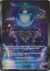 Shadow's Memoria - TTW-104 - R - 1st Edition - Full Art
