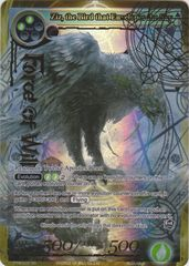 Ziz, the Bird that Envelopes the Sky - TTW-072 - SR - 1st Edition - Full Art