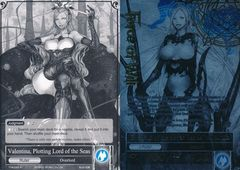 Valentina, Plotting Lord of the Seas // Overlord of the Seven Lands, Valentina - TTW-045 // TTW-045J - UR - 1st Edition