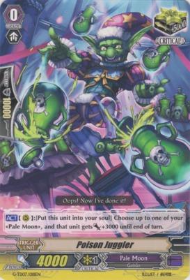 Poison Juggler - G-TD07/018EN - TD