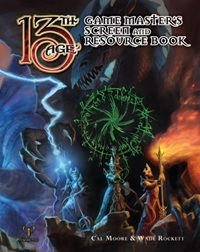 13th Age RPG Game Masters Screen and Resource Book