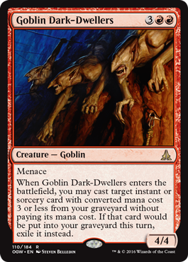 Goblin Dark-Dwellers - Foil