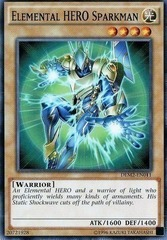 Elemental HERO Sparkman - DEM2-EN011 - Common - Unlimited