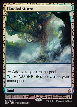 Flooded Grove (Masterpiece Foil)