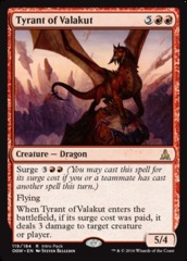 Tyrant of Valakut - Intro Pack Promo