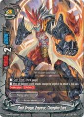 Bash Dragon Emperor, Champion Lord  - H-BT01/0027EN - R - Foil