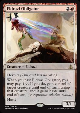 Eldrazi Obligator - Foil