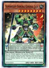 Superheavy Samurai General Jade - BOSH-EN010 - Common - 1st Edition