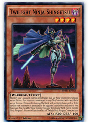 Twilight Ninja Shingetsu - BOSH-EN015 - Common - 1st Edition