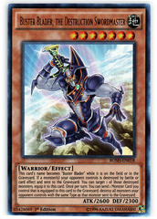 Buster Blader, the Destruction Swordmaster - BOSH-EN018 - Ultra Rare - 1st Edition