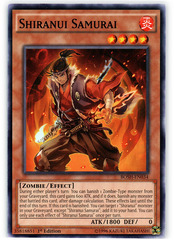 Shiranui Samurai - BOSH-EN034 - Common - 1st Edition