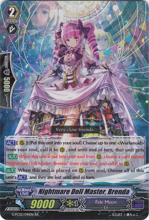 Nightmare Doll Master, Brenda - G-FC02/041EN - RR