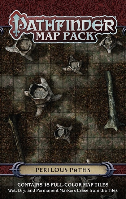 Pathfinder Map Pack: Perilous Paths