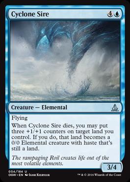 Cyclone Sire - Foil