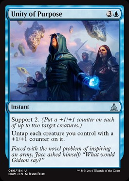 Unity of Purpose - Foil
