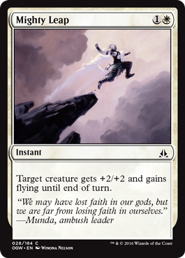Mighty Leap - Foil