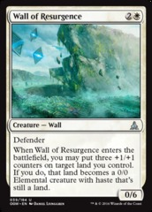Wall of Resurgence - Foil