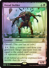 Dread Defiler - Foil - Prerelease Promo