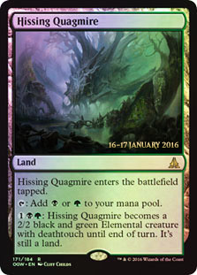 Hissing Quagmire - Oath of the Gatewatch  Prerelease Promo