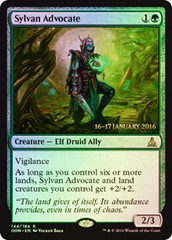 Sylvan Advocate (Oath of the Gatewatch Prerelease Foil)