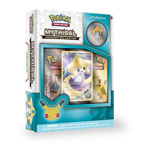 Mythical Pokemon Collection: Jirachi