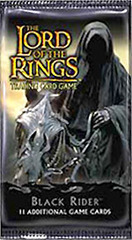 Lord of the Rings Card Game Black Rider Booster Pack