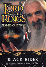 Lord Of The Rings Cards Black Rider Saruman Starter Deck