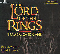 Lord of the Rings Cards Fellowship Draft Pack Box