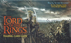 Realms of the Elf Lords Booster Box Lord of the Rings Cards