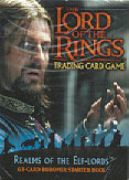 Realms of the Elf Lords Boromir Starter Deck LOTR