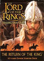 LOTR Card Game Return of the King Eomer Starter Deck