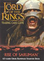 Rise of Saruman Uruk Rampage Starter Deck