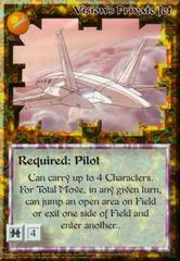 Vision's Private Jet