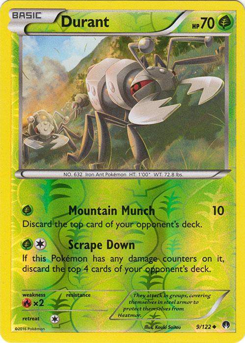Uncommon Reverse Holo NM-Mint Pokemon Frogadier English 39//122