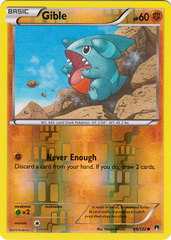 Gible - 68/122 - Common - Reverse Holo