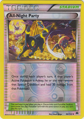 All-Night Party - 96/122 - Uncommon - Reverse Holo