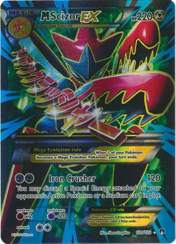 Mega-Scizor-EX - 120/122 - Full Art Ultra Rare