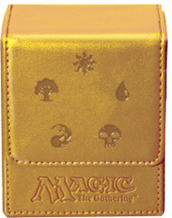 Ultra Pro Gold Mana Magic Flip Deck Box