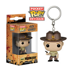 Funko POP Keychain: Walking Dead - Rick Grimes