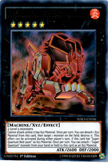 Super Quantal Mech Beast Magnaliger - WIRA-EN036 - Ultra Rare - 1st Edition on Channel Fireball