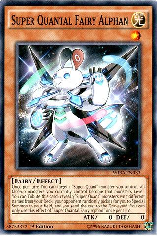 Super Quantal Fairy Alphan - WIRA-EN033 - Common - 1st Edition