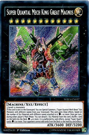Super Quantal Mech King Great Magnus - WIRA-EN037 - Secret Rare - 1st Edition