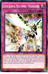 Super Quantal Mech Sword - Magnaslayer - WIRA-EN039 - Common - 1st Edition