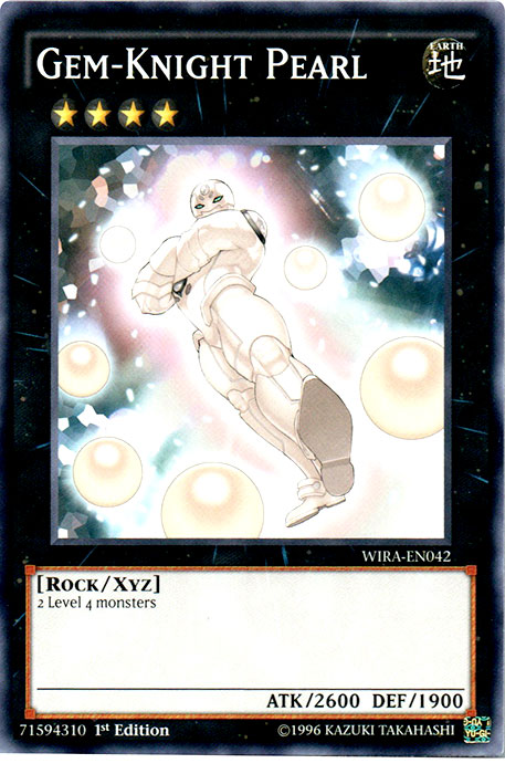 Gem-Knight Pearl - WIRA-EN042 - Common - 1st Edition