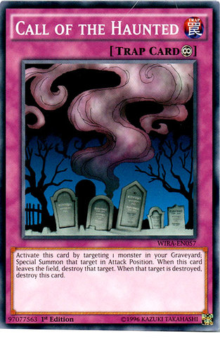 Call of the Haunted - WIRA-EN057 - Common - 1st Edition