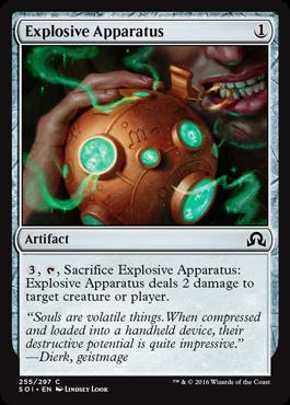 Explosive Apparatus - Foil