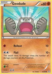 Geodude - 43/83 - Common